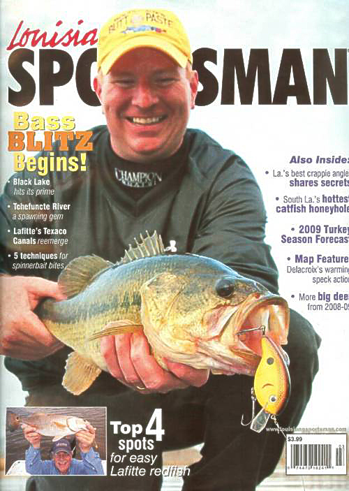 Louisiana sportsman is the complete hunting and fishing for Louisiana sportsman fishing reports