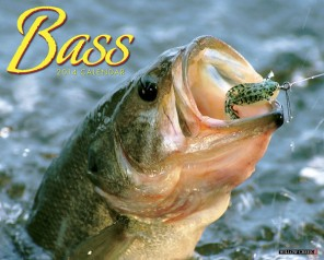 Bass Fishing 2014 Wall Calendar