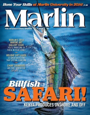 Marlin sport fishing